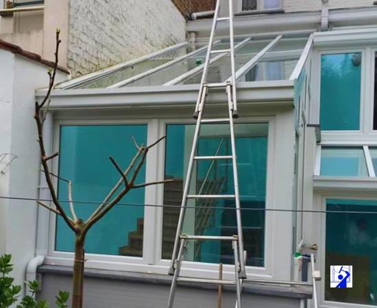 Lavage de verandas par un professionel sur Bruxelles