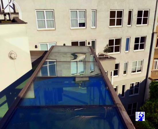 laveur vitres pour Immeuble en accès difficile sur Bruxelles
