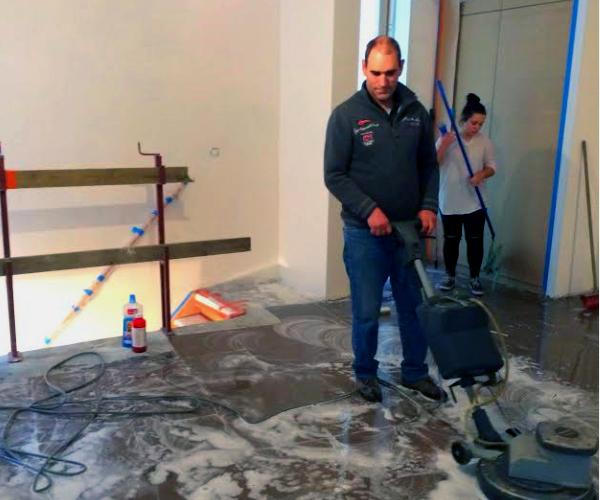 Société de nettoyage sur Bruxelles.