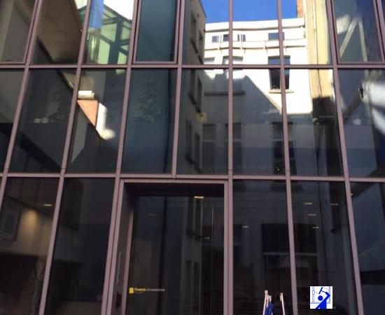 Lavage de vitres en hauteur sur Bruxelles