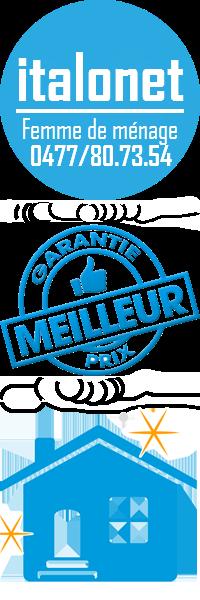 femme de ménage pas cher Saint-Gilles | italonet