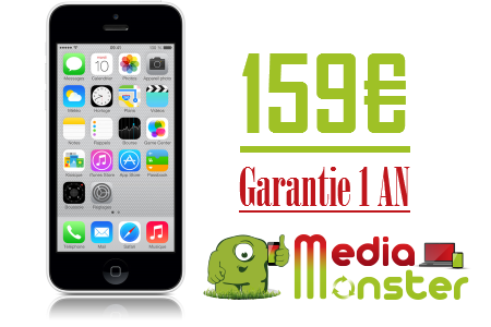 Vente IPHONE 5C 16GB